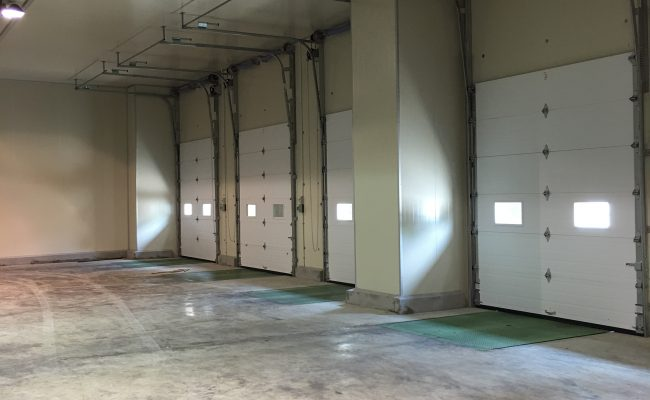 Loading Bay_View from inside